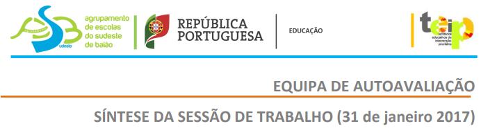 SÍNTESE DA SESSÃO DE TRABALHO (31 de janeiro 2017)